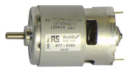 Dc1024 mellor electric brushed dc motor 13 6 w 24 v dc for Etek r brushed dc electric motor