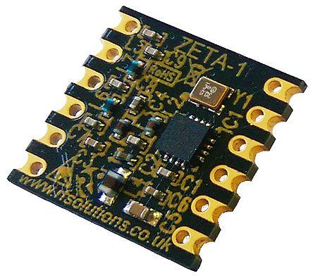 rf solutions zeta-433 fsk,ook 射频收发器, 40 → 850khz, 1.