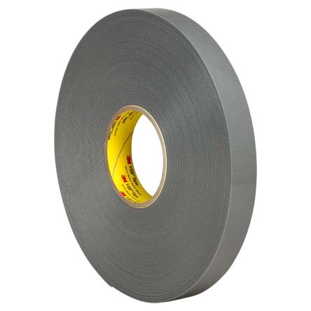 3m grey double sided foam tape 11mm thick 12mm x 33m