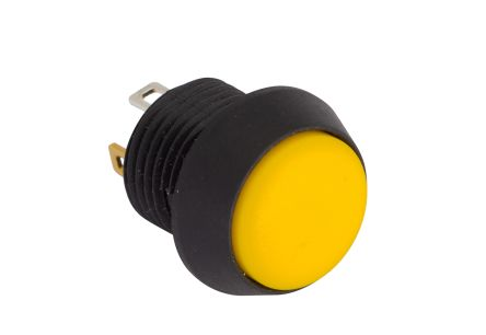 SPST-NO Momentary Push Button Switch, IP67, 13.5 (Dia.)mm, Panel Mount, 5V