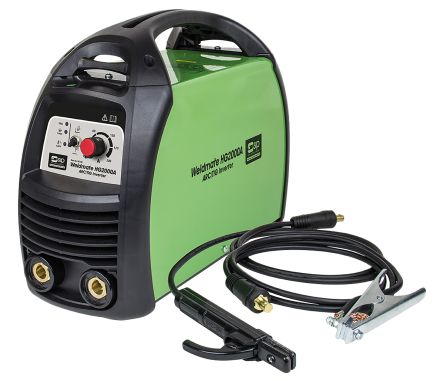 weldmate 发生器为友好型,且配有焊接电缆,电极夹子接地引线和夹子.