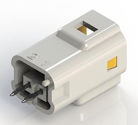 edac 紧凑型电源连接器 公 插头 560-002-420-101, 2p, 印刷电路板