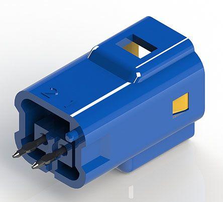 edac 紧凑型电源连接器 公 插头 560-002-420-301, 2p, 印刷电路板