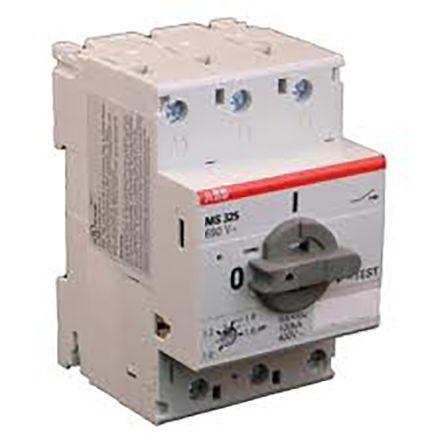Ms325 25e abb manual 3 dol starter 220 240 v ac 500 for Abb manual motor starter