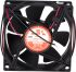 Ventilatore assiale in c.c. RS Pro OD8025-24HSS, 80 x 80 x 25mm, 68m³/h, 24 V c.c., serie OD8025