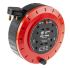 10m Extension Reel Type G - British,4 Socket ,Unwound Current Rating 10A,240 V