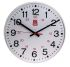 RS Pro White Wall Clock, 30cm