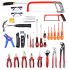 RS Pro 32 Pieces VDE/1000 V Electricians Tool Kit