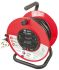 25m Extension Reel Type G - British,4 Socket ,Unwound Current Rating 13A,240 V