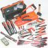 Bahco 工具套装, 31件 电工工具套件, 内含 凿、锤子、锯、螺丝刀、可调扳手