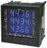 HOBUT PD721MCS100V/2-001 , LED Digital Panel Multi-Function Meter for Current, Frequency, Power, Voltage, 96mm x 96mm