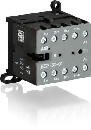 MINI CONTACTEUR 5.5KW - 3P + 1NC - 220VDC