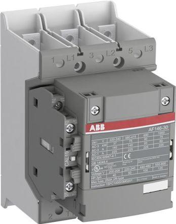 Contacteur  AF 146A AC3 - 3P + 1NO+1NF - 48…130VAC/DC - PLAGES