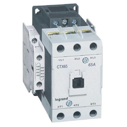 CTX CONTACTEUR 3P 65A  2NO2NC 48V AC BORNES A VIS T4