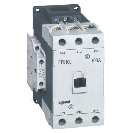 CTX CONTACTEUR 3P 100A  2NO2NC 48V AC BORNES A VIS T5