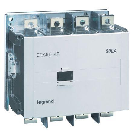 CTX CONTACTEUR 4P 500A  AC1 100-240V ACDC  T14