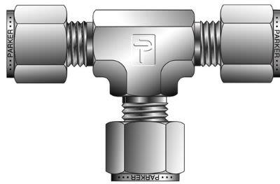 A-LOK® Inch Tube Union Tee - ET