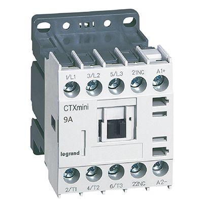 CTX MINI CONTACTEUR 3P 9A 1NC 24VDC