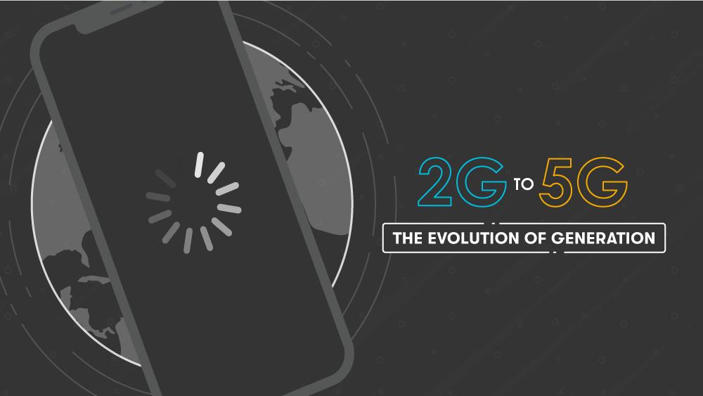 2G to 5G Data Speeds