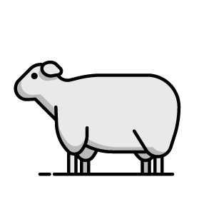 lamb button