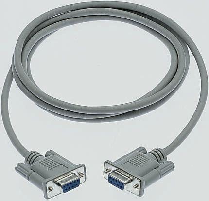 RS Pro, Serielles Kabel DB9-Buchse / DB9-Buchse, 1m | RS Components