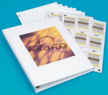 TE Connectivity CRG0603 Thick Film 122 Resistor Kit, with 100 pieces, 0Ω → 1MΩ