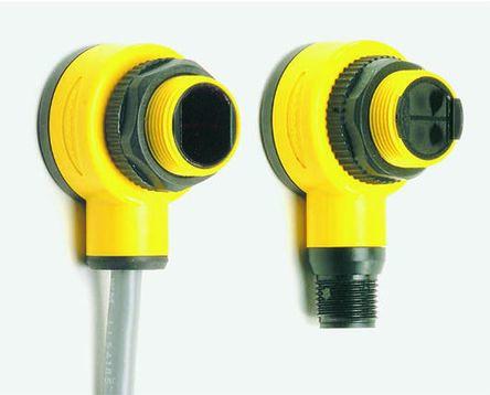 Diffuse Photoelectric Sensor 100 mm Detection Range PNP IP69K Barrel Style T18SP6FF100 product photo