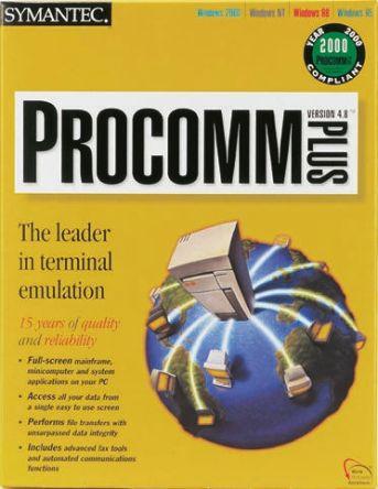 procomm plus version 4.8