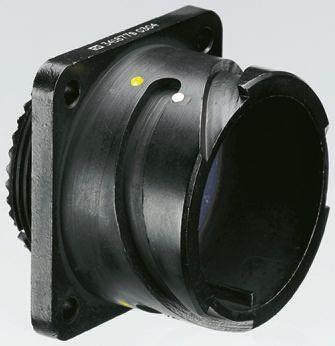 AB Connectors ABCIR Series, 19 Way Panel Mount MIL Spec Circular Connector  Receptacle, Pin Contacts,Shell Size 22