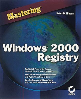 0782126154 Sybex | Book,Mastering windows 2000 registry | 360-8203