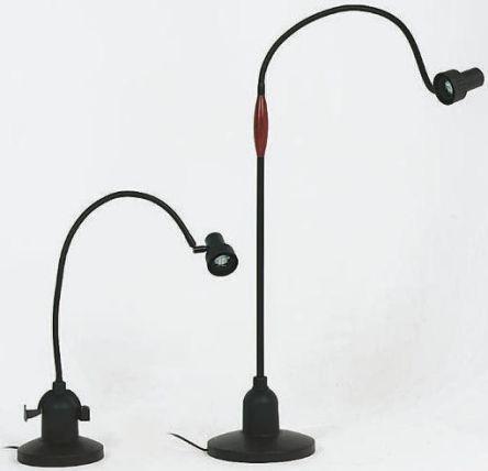 Light Desk Dimming Weighted Base Floor Standing 20w Halogen Capsule Lamp