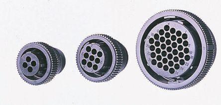 TE Connectivity, Series 1,  16 Way Circular Connectors Receptacle