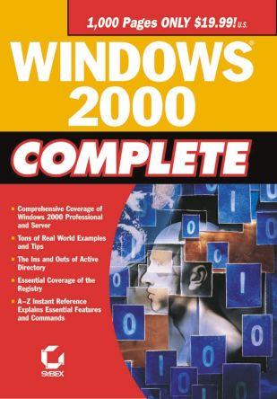 0782127215 Sybex | Book,Windows 2000 complete-Sybex | 377-5432 | RS