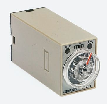 Omron ON Delay Single Time Delay Relay, 1 → 30 s, 2 Contacts, DPDT, 200 →  230 V ac