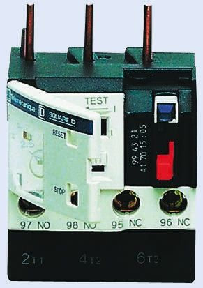 Relay, Compensated/Differential, 7-10A, 3, 1, Manual/Auto, TeSys LRD Series