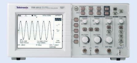 tds1012 oscilloscope digital storage 100mhz tektronix tds1012 ukas rh ie rs online com tektronix tds 1012 manual tektronix tds 1012 manual