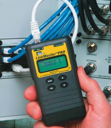 Ideal Networks 33-836 Video, Data & Voice Wiring Tester of Continuity, on
