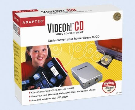 PC,video capture,converter,CD Creation,USB,Adaptec
