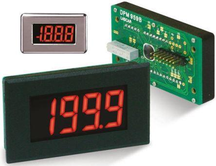 Dpm 959b Lascar Digital Voltmeter Dc Led Display 3 5