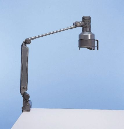 Fluorescent Machine Light, 230 V, 13 W, Adjustable Arm, 800mm Reach, 800mm Arm Length product photo