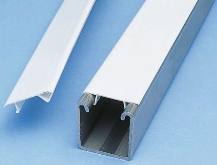 P1184p Unistrut Unistrut White Pvc Enclosure Strip 3m