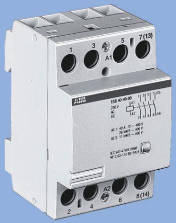 ABB System M Pro ESB 4 Pole Contactor,
