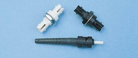 Amphenol ST Multimode Simplex Fibre Optic Connector