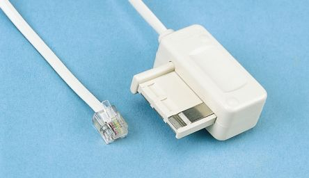 3m Telephone Extension Cable Male RJ11 product photo