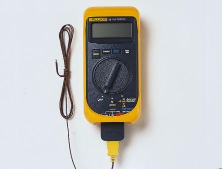 1641047 Fluke | Fluke 16 Handheld Digital Multimeter, 200μA