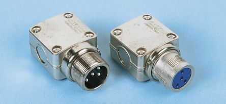 12 Way Cable Mount MIL Spec Circular Connector Plug, Pin Contacts, MIL-DTL-5015 product photo