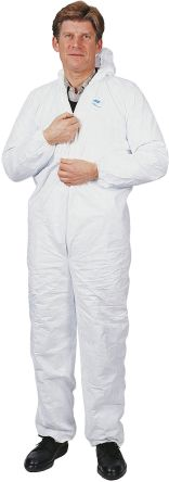 C10923770 White Disposable Coverall, M product photo