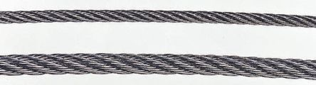 Qualitystainless steel wire rope,4mmx75m