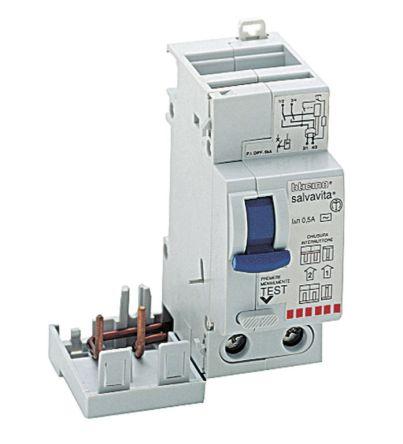 Schema Collegamento Differenziale Magnetotermico : G23 32ac interruttore magnetotermico differenziale per uso civile