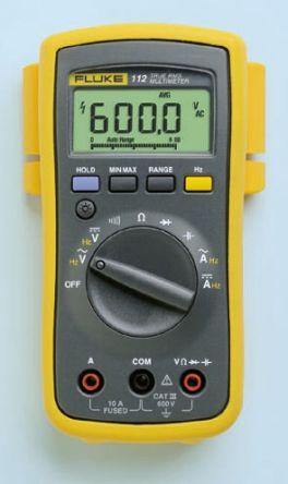 1641517 fluke 111 digital multimeter handheld 10a ac 600v ac 600v rh uk rs online com Digital Multimeters Manufacturer fluke 110 true rms multimeter manual